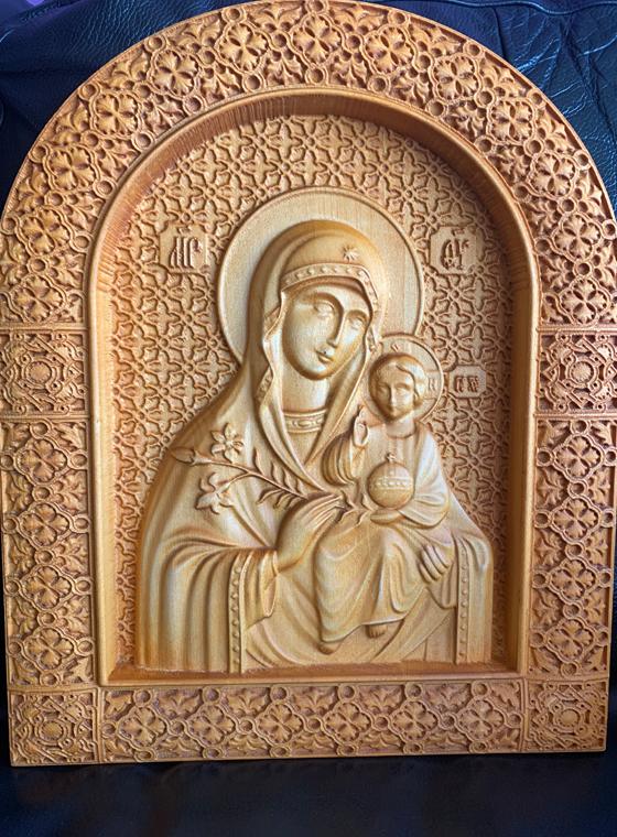 Богородица Неувяхващ цвят